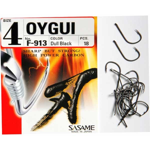 Amo Sasame F-913 OYGUI Dull Black