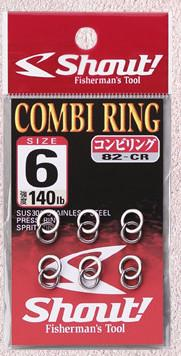 Shout solid+split 82-CR COMBI RING