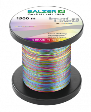 Trecciato Balzer_iron_line_8_multicolor_1500m