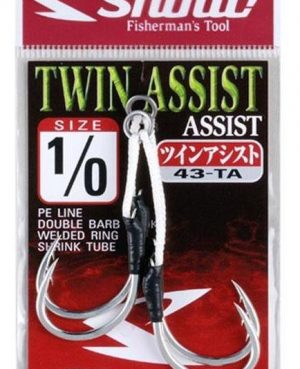 Assist hook 43-TA TWIN ASSIST