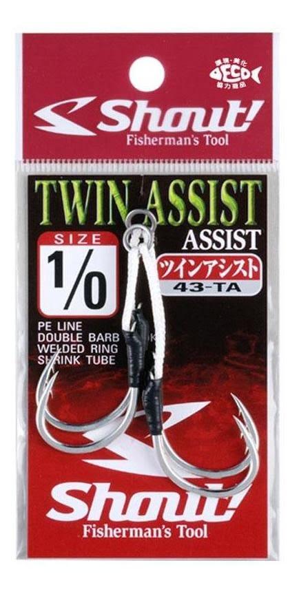 Assist hook 43-TA TWIN ASSIST