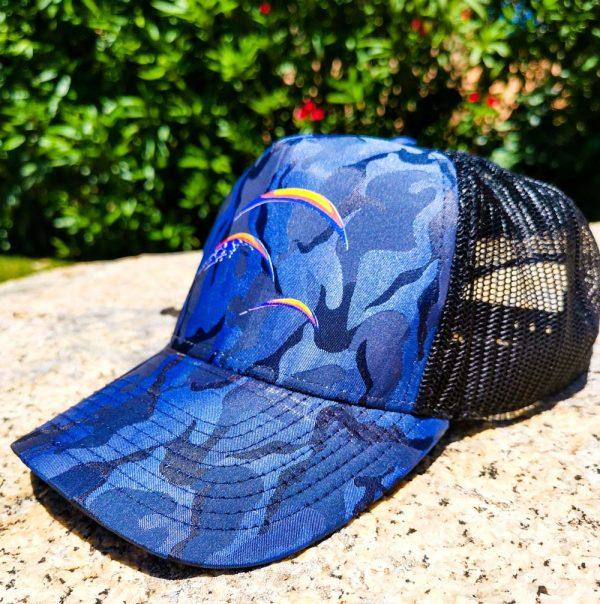 Cappellino Marcature SA- imited edition Blu camuflage Stefano Adami