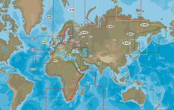 Cartografia C-map Max N plus