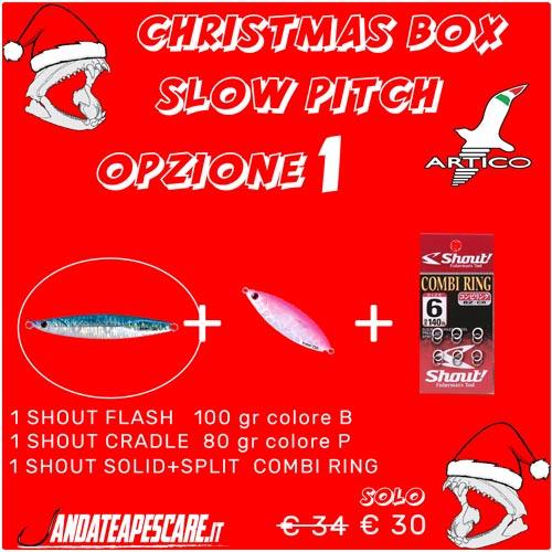 Christmas Box Slow pitch jigging 1 Artico By Stefano Adami
