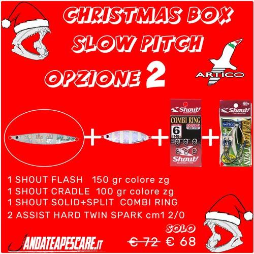 CHRISTMAS BOX Artico slow pitch 2