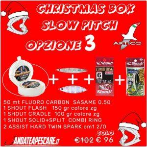 CHRISTMAS BOX Artico slow pitch 3