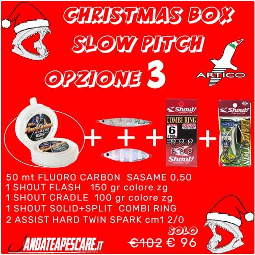 Christmas Box Slow pitch jigging 3 Artico By Stefano Adami