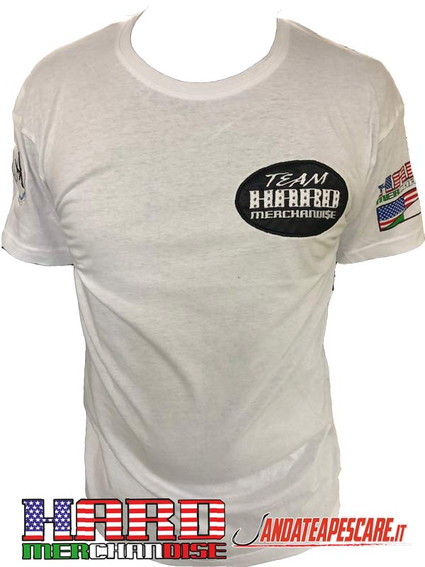 T-shirt Hard Merchandise Dave Marciano Fronte
