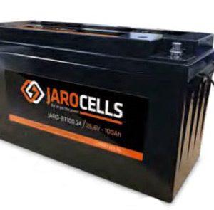 Batteria al litio ferro fosfato Jarocells 24 Volts 100 Ampere