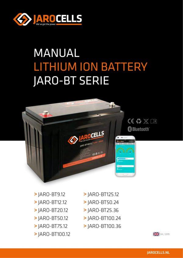 Batterie Jarocells litio ferro fosfato