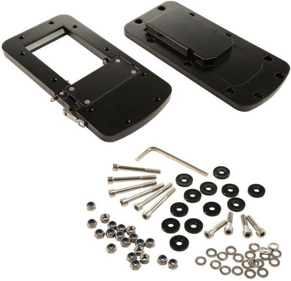 Piastra a sgancio rapido Per Motorguide alluminio XI5 e XI3 nera