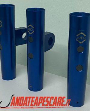 Portacanne alluminio da T-top