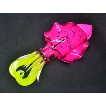 Artificiale di gomma sepia JLC Rosa Fluo fronte