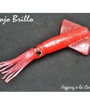 Artificiale di gomma XIPI JLC Corpo di ricambio Rosso Brillante