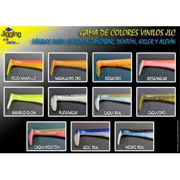 Artificiale di gomma Zanzibar JLC lista colori