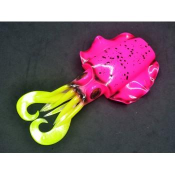 Artificiale di gomma sepia JLC corpo di ricambio Rosa Fluo