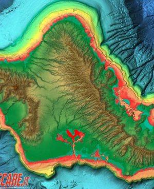 C-map reveal la carta da pesca definitiva rilievi ombreggiati
