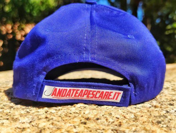 cappellino marcature Andate a pescare Limited edition retro