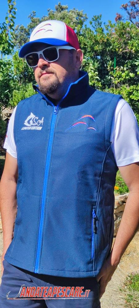 Smanicato da pesca Marcature Stefano Adami Fronte