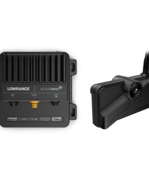 Active target Lowrance sonar in tempo reale