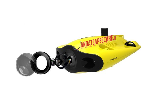 Gladius mini S Row subacqueo telecamera 4k